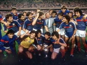 les Bleus, champions d'Europe en 1984