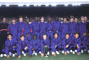 le PSG vainqueur de la Coupe Gambardella 1991