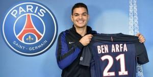 Ben Arfa nouveau numéro 21 du PSG