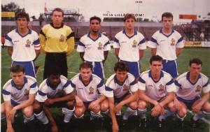 Barrabé et les Espoirs en 1988