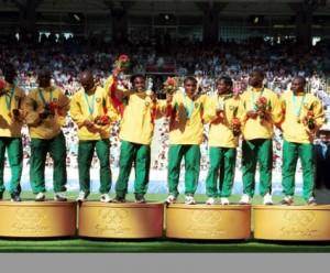 l'Or pour le Cameroun en 2000