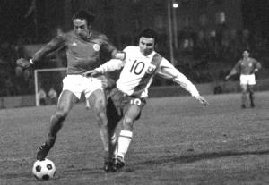 le premier PSG-Lyon en 1971