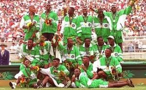 Okocha et le Nigéria en or en 1996