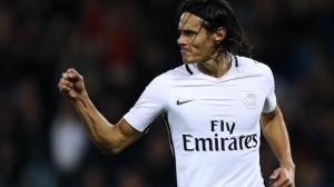 Cavani, meilleur buteur du PSG contre Caen
