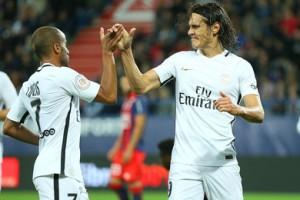 4-0 pour le PSG de Lucas et Cavani en 45 minutes à Caen : record égalé !