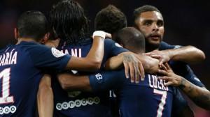 la joie des Parisiens face au promu messin la saison dernière (3-0)