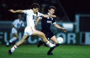 Susic contre Bordeaux en 1988