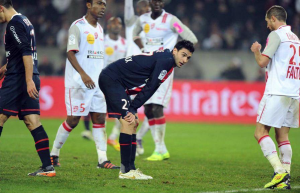 la déception de Pastore face à Nancy en 2011