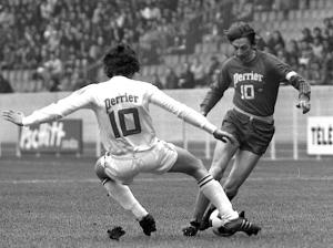 Dogliani face à Nancy en  Coupe de France 1974
