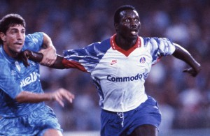 George Weah face à Naples