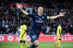 les derniers buts d'Ibra contre Nantes au Parc des Princes