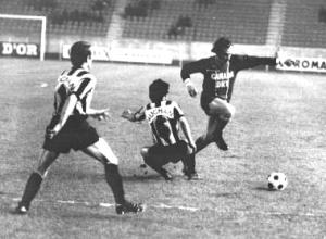 Spiegler face à Mantes en 1974