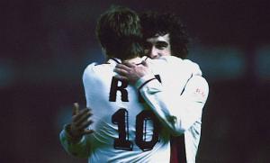 la joie de Rocheteau et Susic en 1985