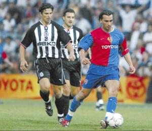 Yakin sous les couleurs du FC Bâle