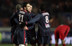 la victoire 4-0 contre Grenoble en 2009