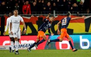 la défaite à Montpellier, pour débuter décembre 2016...