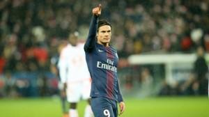 18 buts pour Cavani après son but face à Lorient