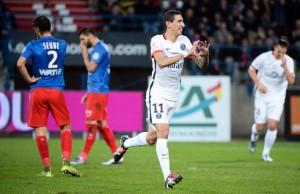 6-0 pour Di Maria à Caen en début de saison