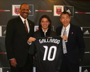 Gallardo à DC United
