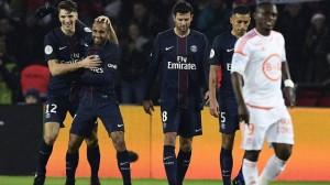 la joie des Parisiens contre Lorient