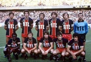 le PSG en 1979