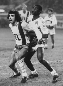 Rocheteau contre Auxerre en 1985