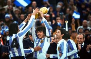 l'Argentine d'Ardiles, championne du monde en 1978