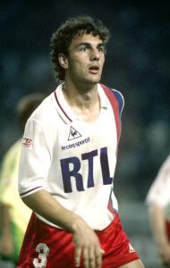 champion de France lors de la saison 1985-1986