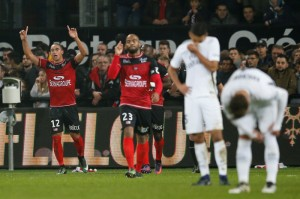 la déception face à Guingamp en 2016