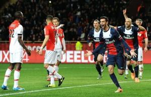 la joie de Pastore après son but à Monaco