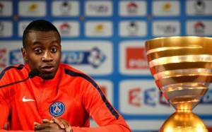 Blaise Matudi, déjà quatre coupes de la Ligue avec le PSG
