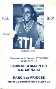 le programme du premier PSG-Monaco en première division