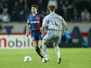 le capitaine parisien en action face à Lille
