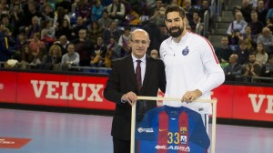 Niko Karabatic honoré en Catalogne