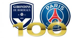 100eme match entre le PSG et Bordeaux