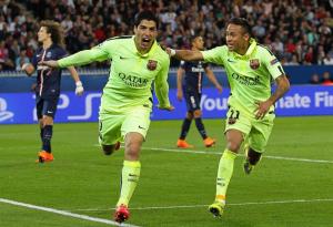 Suarez et Neymar, bourreaux des Parisiens en 2015
