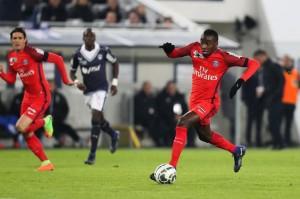 Matuidi lors du dernier succès parisien à Bordeaux en Coupe de la Ligue (4-1)