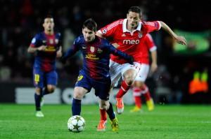 Le Barca de Messi va rejoindre Benfica