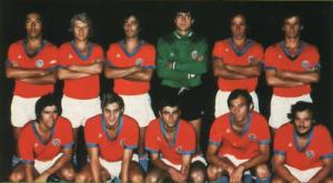 le onze parisien pour le premier PSG-Bordeaux en 1971