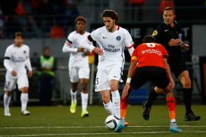Rabiot et le PSG rois à Lorient