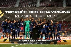 Le dernier pour les Parisiens, le trophée des champions 2016