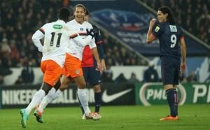 la défaite face à Montpellier en 2014