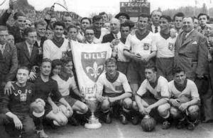 le record  - à égalité - pour Lille au milieu des années 1940