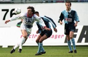 David Ginola en duel face au Havre