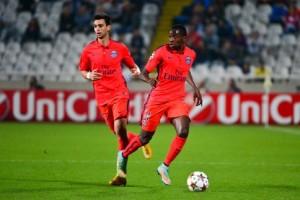Matuidi et Pastore, les deux plus capés du PSG 2016-2017