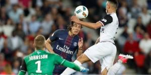 Cavani meilleur buteur du PSG contre Guingamp