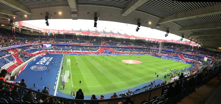 Match domicile en l1 pour - Parc des princes porte de saint cloud ...