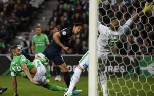 Saint Etienne à égalité avec Rennes