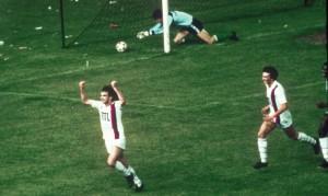 la joie de Rocheteau en 1982