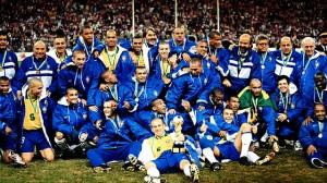 la joie des Brésiliens en 1997
